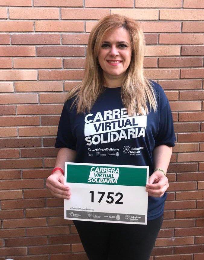 Cuenca muestra su gran sensibilidad con motivo de la Carrera Virtual Solidaria Fundación Eurocaja Rural