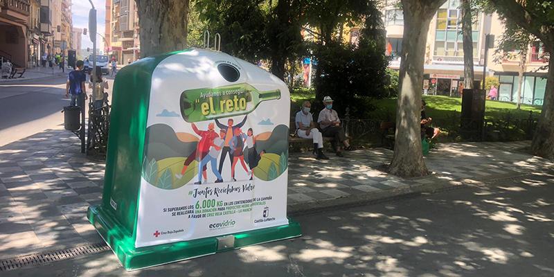 Cuenca pone en marcha el reto solidario 'Juntos reciclamos vidrio'
