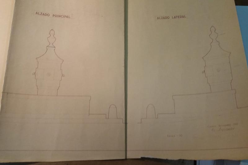 El arreglo de la Fuente de Santo Domingo, en Cuenca, saca a la luz su proyecto original