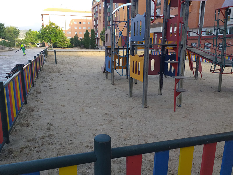 El Ayuntamiento de Cuenca abre las áreas infantiles