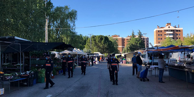 El Ayuntamiento de Cuenca amplía este martes el número de puestos del mercadillo municipal hasta alcanzar el 55%