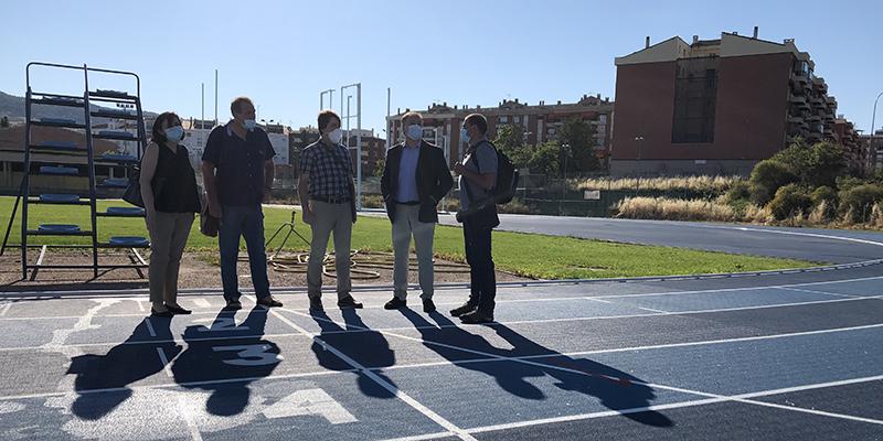 El Ayuntamiento de Cuenca recepciona las obras de la pista de atletismo Luis Ocaña