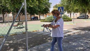 El Ayuntamiento de San Clemente inicia la apertura de parques y jardines