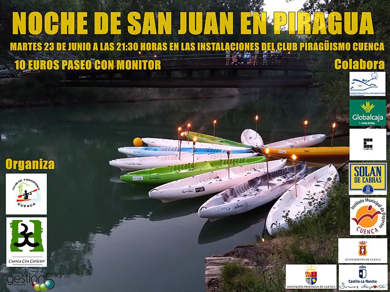 El Club Piragüismo Cuenca con Carácter celebrará la mágica Noche de San Juan
