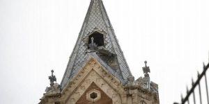 El Consorcio de la Ciudad de Cuenca licita la obra del andamio para la reparación del chapitel de la torre de El Salvador