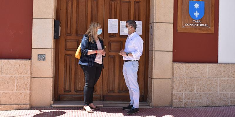 El Gobierno regional ha enviado casi 8.300 elementos de protección a Motilla del Palancar durante la crisis sanitaria