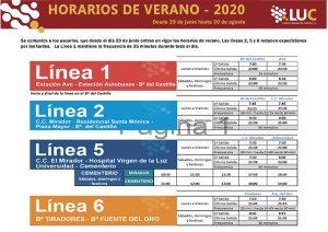 El servicio de autobús urbano de Cuenca reduce sus frecuencias de lunes a viernes a partir de este lunes