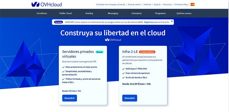 Hosted Private Cloud en Europa las soluciones de confianza de OVHcloud reconocidas como líderes por una firma independiente de investigación