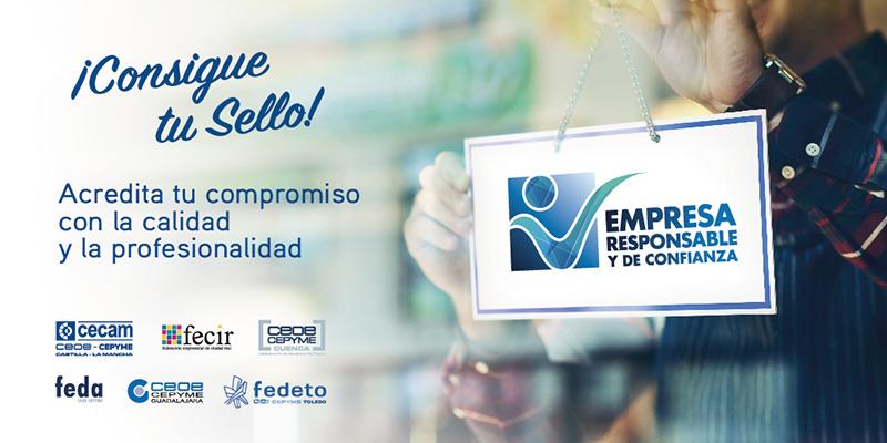1.000 empresas de nuestra región han solicitado ya el sello `Empresa responsable y de confianza´