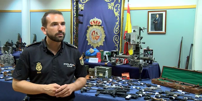 La desarticulación de una de las mayores redes criminales dedicada al tráfico ilícito de armas en España salpica a Cuenca