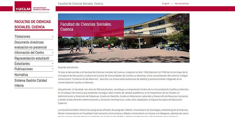 La UCLM plantea priorizar la docencia online el próximo curso