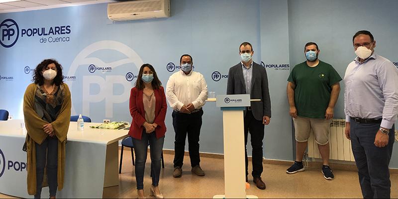 Los alcaldes conquenses 'recuerdan' a Page cual ha sido su cometido durante la pandemia y agradecen a la sociedad civil su gran ayuda