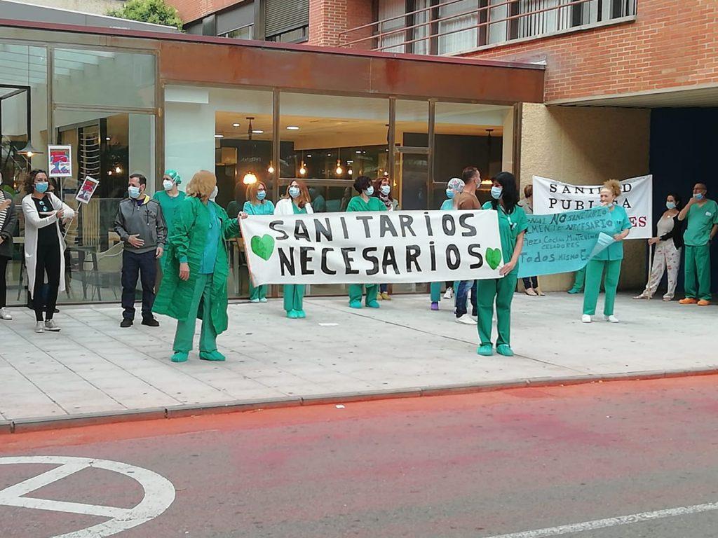 Nace la Plataforma Sanitarios Necesarios en Castilla-La Mancha