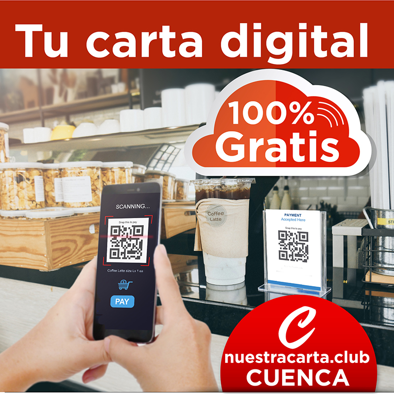 Los hosteleros conquenses dispondrán de una carta digital gratuita