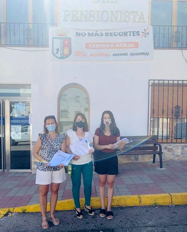 Casi 200 quejas avalan la necesidad de que Ledaña recupere el administrativo en su Consultorio Médico, suprimido desde marzo