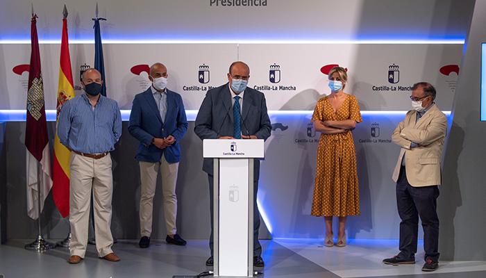 Castilla-La Mancha, pionera en la creación de una reserva estratégica de material sanitario que incluirá un mecanismo de gestión y control