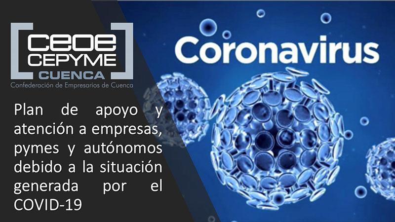 CEOE-Cepyme Cuenca advierte que la inspección vigilará el cumplimiento de las medidas de salud pública