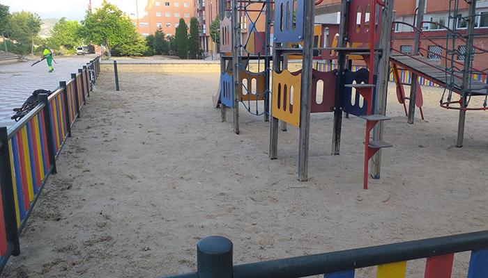El Ayuntamiento de Cuenca adjudica el contrato para el mantenimiento integral de las áreas de juegos infantiles