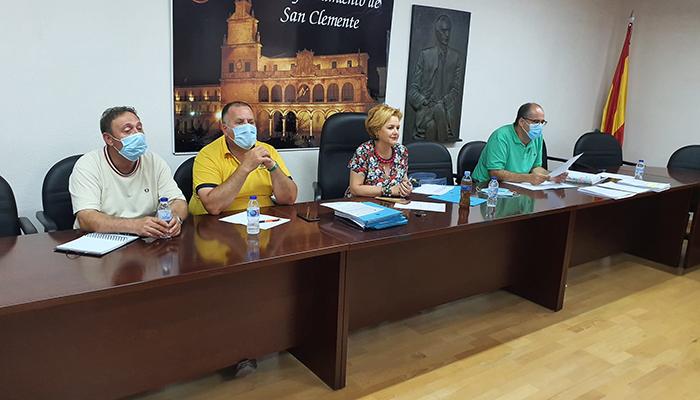 El Ayuntamiento de San Clemente retoma la mesa negociadora