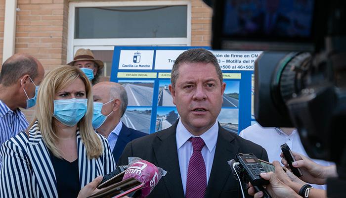 El Gobierno de Castilla-La Mancha finaliza la mejora de la carretera CM-3114 entre la antigua N-III y la autovía A-3