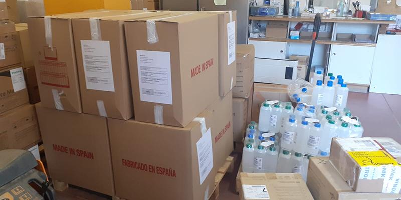 El Gobierno de Castilla-La Mancha ha distribuido otros 23.000 artículos de protección para el área de Salud de Cuenca