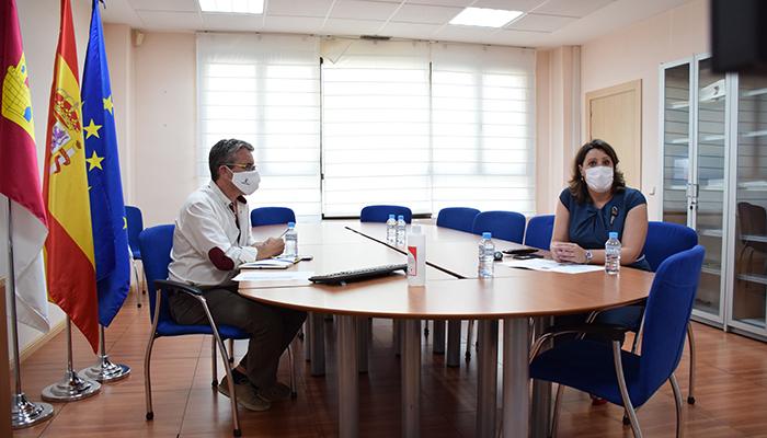 El Gobierno regional y el Colegio de Arquitectos abordan nuevas líneas de colaboración en materia de internacionalización y formación en nuevas tecnologías