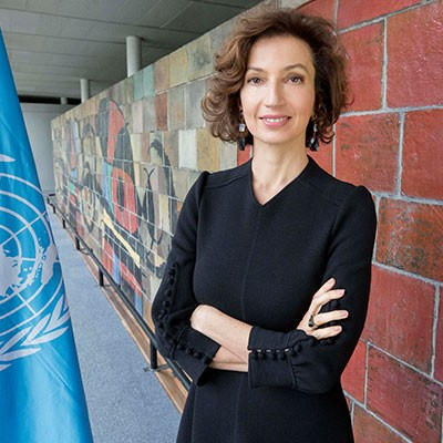 El Grupo de Ciudades Patrimonio de la Humanidad otorga el Premio Patrimonio 2020 a la directora general de Unesco