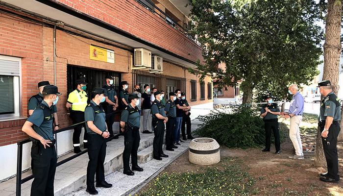 El subdelegado del Gobierno en Cuenca agradece a las tres Compañías de la Guardia Civil en la provincia su intenso trabajo durante el estado de alarma