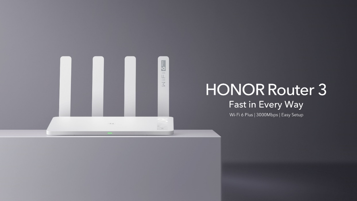 HONOR lanza el primer HONOR Router 3 con Wi-Fi 6 Plus