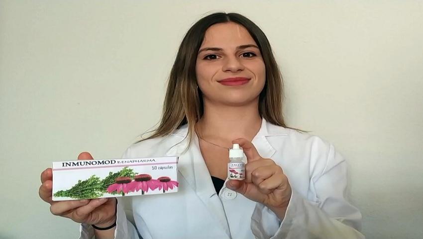 La conquense Cristina Blasco gana un concurso sobre productos elaborados con plantas medicinales