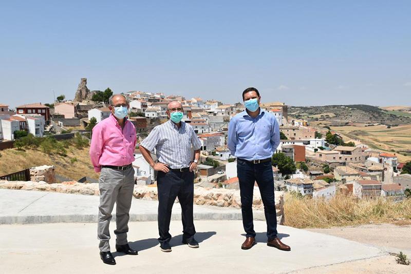 La Diputación de Cuenca actuará en el acceso a Zafra del Záncara para mejorar la seguridad a la altura del trasvase Tajo-Segura