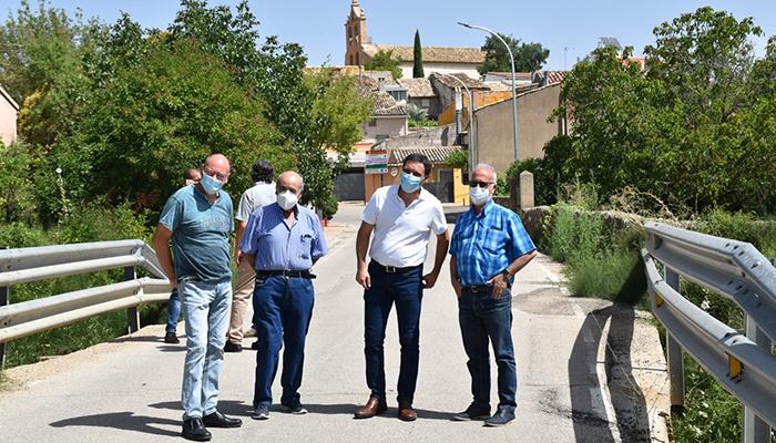 La Diputación de Cuenca llevará a cabo una ampliación de la CUV-2174 en el puente del río Jábaga con un presupuesto de 78.000 euros