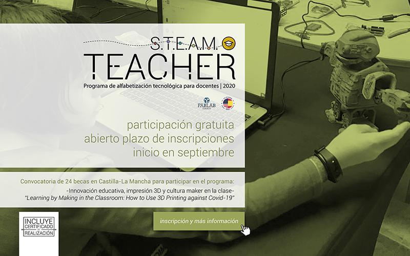 La Embajada de EE.UU. y Fablab Cuenca ponen en marcha un curso de capacitación para el profesorado en materias STEAM e impresión 3D