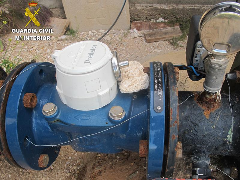 La Guardia Civil investiga a una persona por un supuesto delito de defraudación de agua en la Mancha conquense