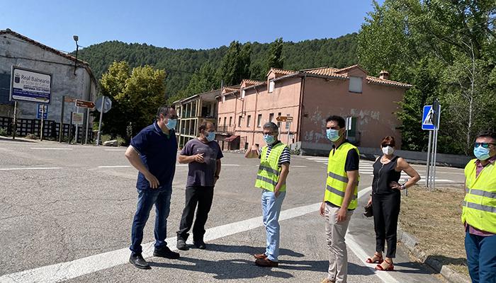 La Junta acomete obras de adecuación y mejora de los accesos en Puente de Vadillos