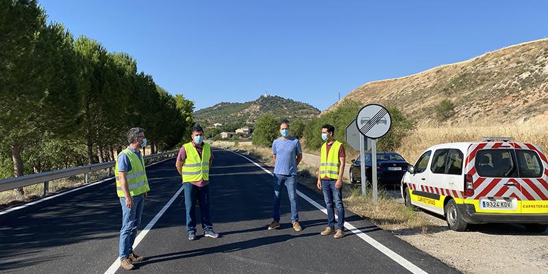 La Junta acomete obras de refuerzo y mejora en la CM-310 a su paso por La Peraleja