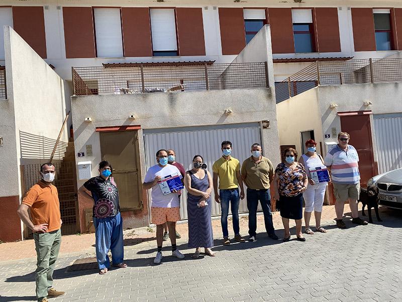 La Junta entrega dos viviendas de protección oficial en el municipio de Cardenete