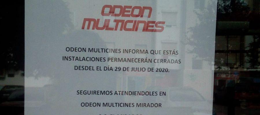 La pandemia obliga al cierre de los cines de la plaza del Cinematógrafo de Cuenca