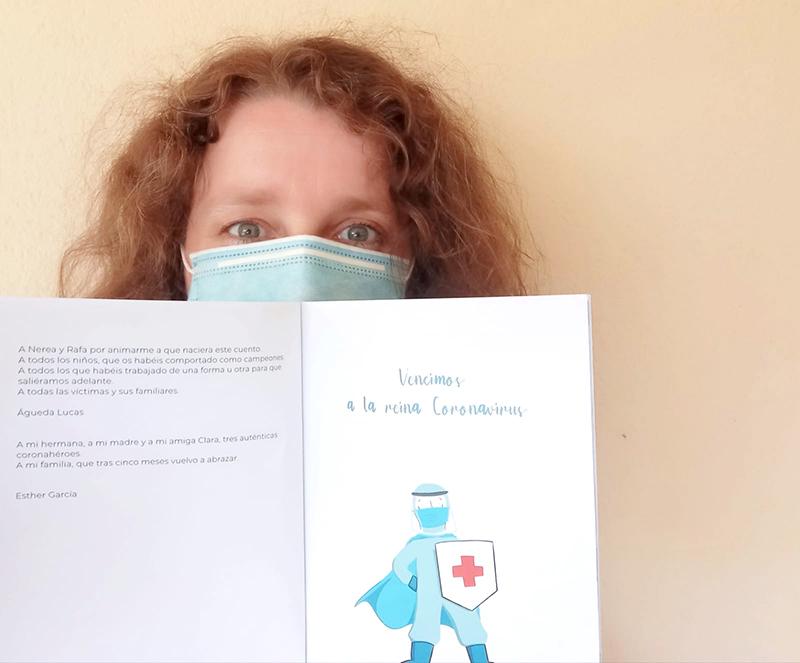 La periodista conquense Águeda Lucas y la ilustradora toledana Esther Pez autopublican un cuento sobre el coronavirus