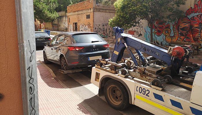Los Agentes de Movilidad de Cuenca recuperan un vehículo que había sido denunciado por sustracción en Jerez de la Frontera