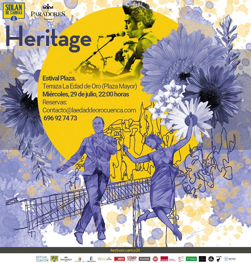 Pospuesto el concierto de Heritage, dentro de Estival Cuenca, al miércoles 29 de julio