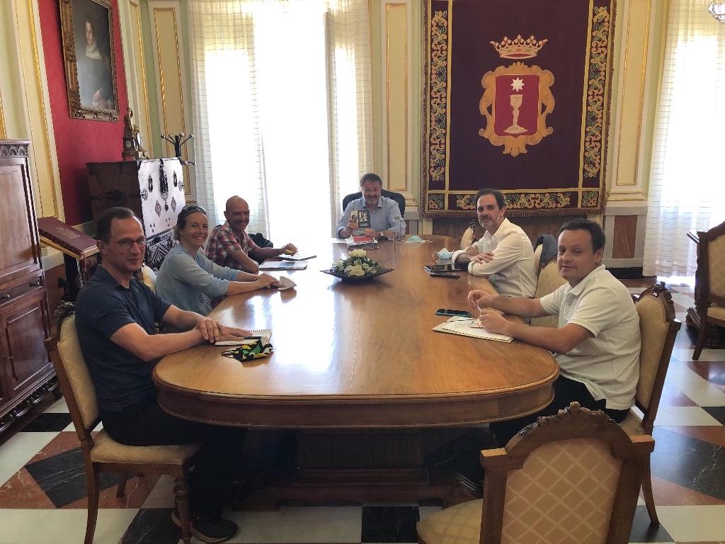 Ayuntamiento de Cuenca y Rewilding Europe sientan las bases para colaborar en el marco de UFIL
