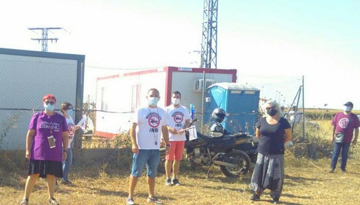 Apoyo de Podemos al pueblo de Quintanar del Rey