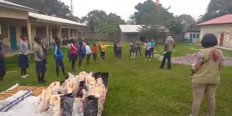 Cáritas Cuenca apoya la alimentación y escolarización de los menores víctimas del último conflicto armado en el Congo-Brazzaville