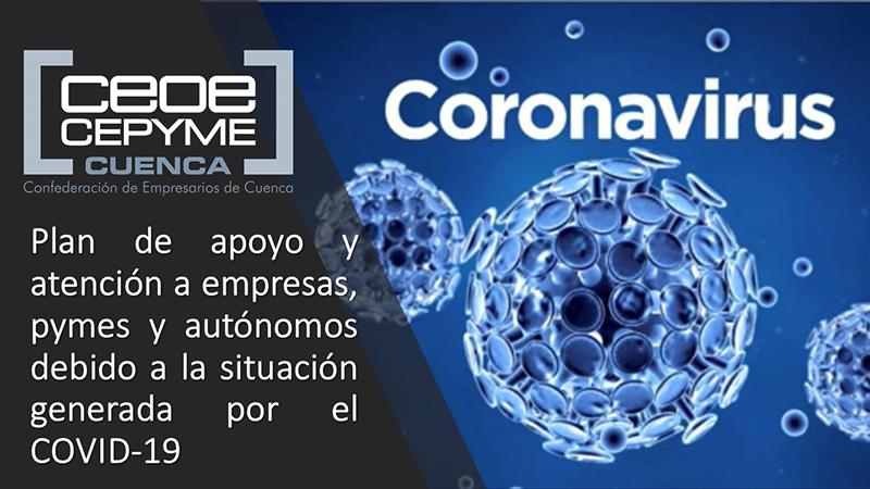 CEOE-Cepyme Cuenca indica las ayudas para contratar personas que han perdido su empleo por la crisis del Covid