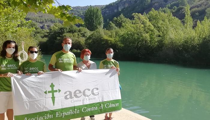 """""""Cuenca se moja contra el cáncer"""" el reto de la AECC en Cuenca"""