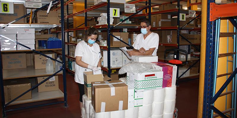 El área de Salud de Cuenca ha recibido del Gobierno de Castilla-La Mancha más de 23.400 artículos de protección y 2.963 test rápidos