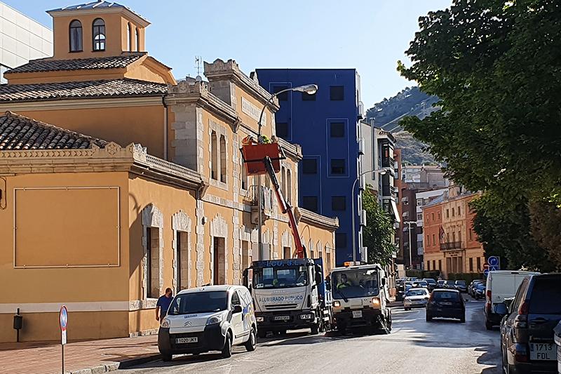El Ayuntamiento de Cuenca instala una veintena de nuevos sensores dentro de la red Smart City