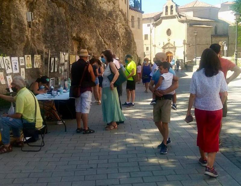 El Ayuntamiento de Cuenca, satisfecho con la acogida del Paseo del Arte al que ya se han sumado veinte los artistas locales