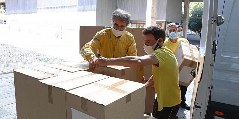 El Gobierno de Castilla-La Mancha ha realizado esta semana un nuevo envío a los centros sanitarios con más de 776.000 artículos de protección